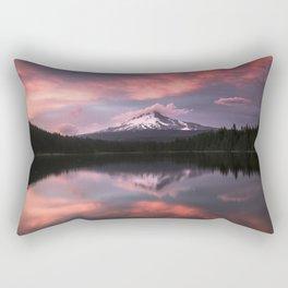 Mt Hood Sunset 6-20-18 Rectangular Pillow