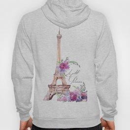 Eiffel Tower Vintage Paris France Hoody