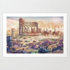 Neapolis Art Print