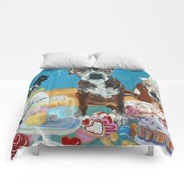 The Last Dessert Dog Portrait Comforters