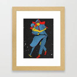 Cosmic Dancers Framed Art Print