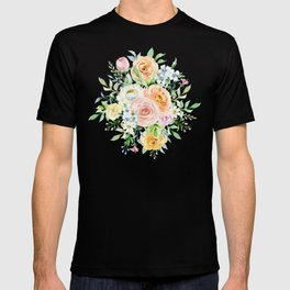 Pastel romantic garden T-shirt