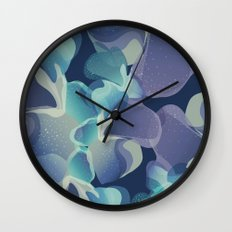 Micro Blue Wall Clock