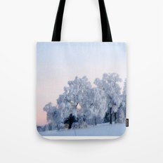 A cold day in Paradise Tote Bag