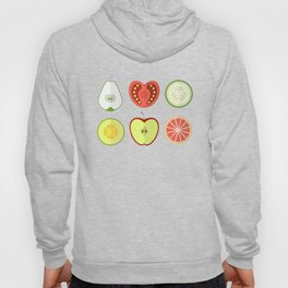Fresh Fruits and Vegetables Hoody