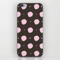 Pink ball pattern iPhone & iPod Skin