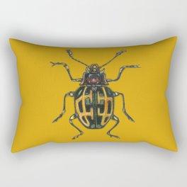 Scarabee carotte Rectangular Pillow