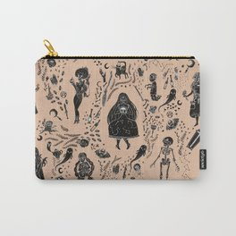 Creatures of the Night (orange) Carry-All Pouch