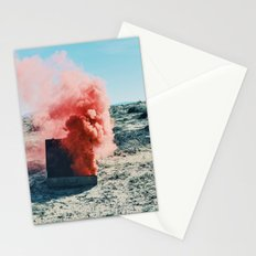 PINK SMOKE - SUIT CASE Stationery Cards