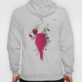 Sorbet fraises chantilly painting colors fashion Jacob's Paris Hoody