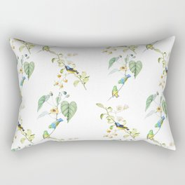 Birds #2 Rectangular Pillow