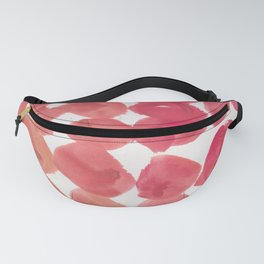 13   | 190408 Red Abstract Watercolour Fanny Pack