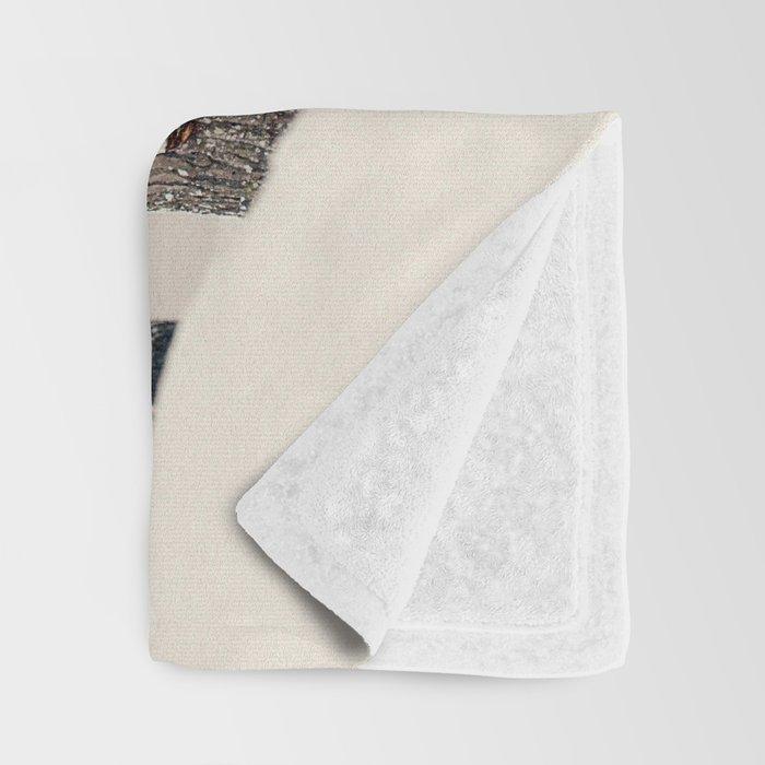 Winter Woods 1 Throw Blanket