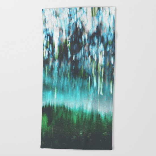 Acid dreams Beach Towel