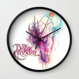 Dark Crystal Wall Clock