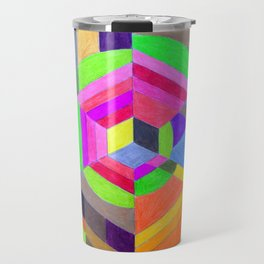 Spiral Hex Travel Mug