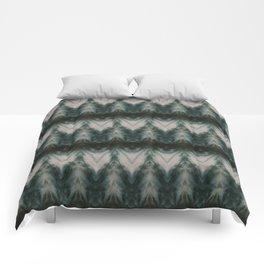 Shades of Green Shibori Comforters