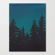 Night is Falling Canvas Print