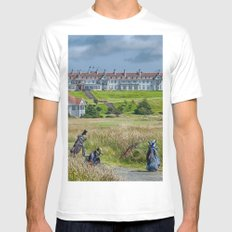 Turnberry Hotel and Golf Course White MEDIUM Mens Fitted Tee