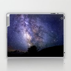 The Milky Way Violet Blue Laptop & iPad Skin