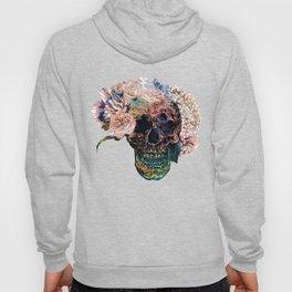 Skull Flowers - MidnightBlue Hoody