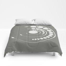 alien crop formation, sacred geometry Comforters