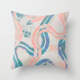 Lianas Throw Pillow