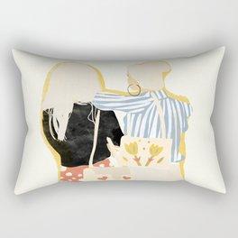 Fashion Friends Rectangular Pillow