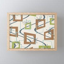Mid Century Modern Minimalism Framed Mini Art Print