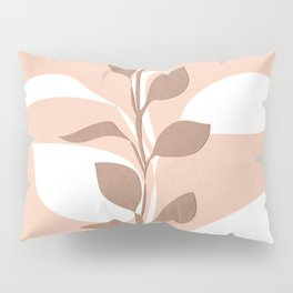 Abstract Plant Pillow Sham