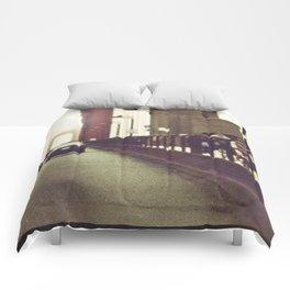 Routine Crossings Comforters