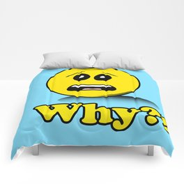 Why Smiley face Comforters