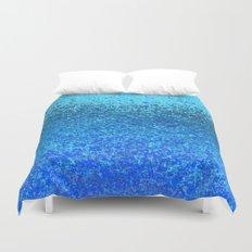 ocean ripple Duvet Cover