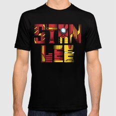 Stan Lee (Iron Man) Mens Fitted Tee X-LARGE Black