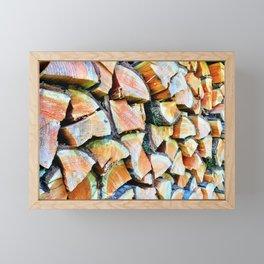 Wood Life Framed Mini Art Print