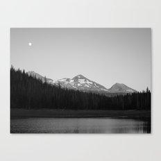 Hand Lake Canvas Print
