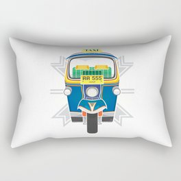 Tuk Tuk Rectangular Pillow