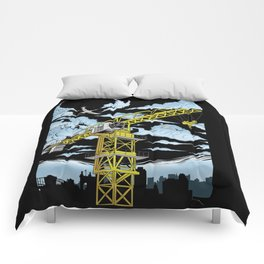 Tower Crane In The SKY Comforters