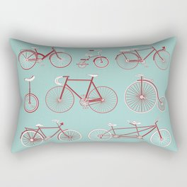Pedal to the Mettle Rectangular Pillow