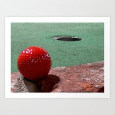 I can make it from here! Art Print