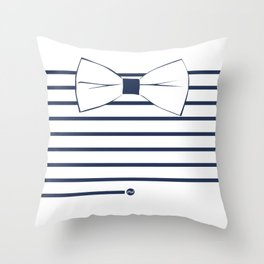 Noeud Pap marin Throw Pillow
