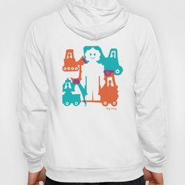 Friendlier Robots Hoody
