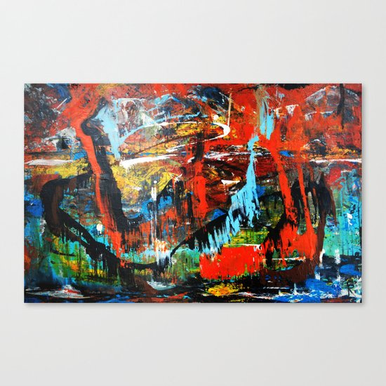 """""""relativity is also relative"""" Canvas Print"""