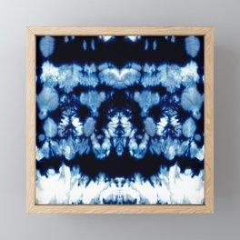 Tie-Dye Shibori Neue Framed Mini Art Print
