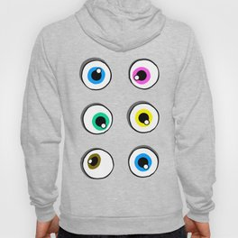 my eyes are up here on white Hoody