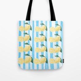Lots of Lemons Pattern Tote Bag