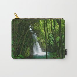 Waterfall in the Azores Carry-All Pouch