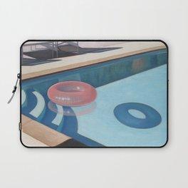 Pink Pool Inner Tube Laptop Sleeve