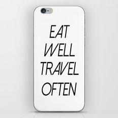 Travel Often iPhone & iPod Skin
