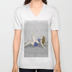 Dancing in a Fog Unisex V-Neck